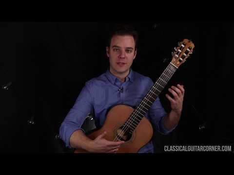 Classical Guitar Technique Lesson : Left Hand Preparation