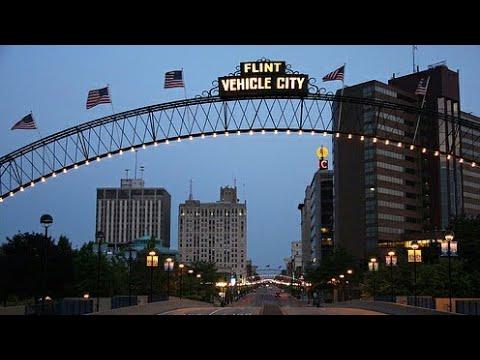 Downtown Flint Michigan 9/4/16 Part 1
