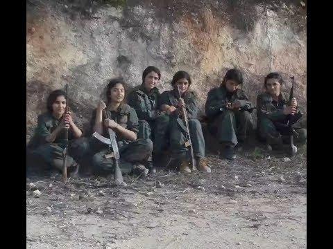 YPG / PKK Melatih Anak-anak Mereka Untuk Membela Diri. Afrin