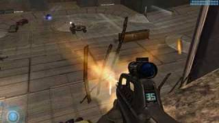 Halo 2: Get the Scarab Gun and Soccer Ball without banshee