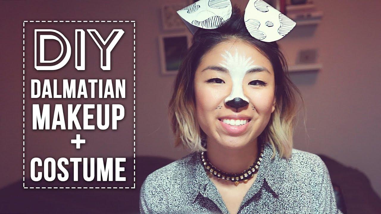 grwm diy dalmatian costume youtube solutioingenieria Gallery