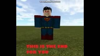 [Roblox] Saitama vs Superman 2
