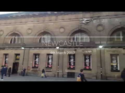 Being A Tourist : Newcastle March 2017