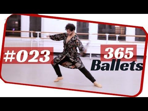ballet male solo- contemporary ballet male solo. 365 ballets/NYC ballet- 023