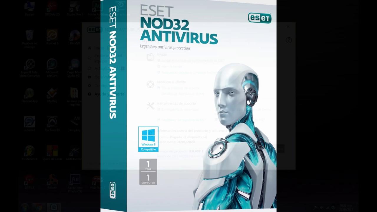 Nod 32 Licencia Hasta 2020 Eset Nod32 Antivirus 9 Y Smart