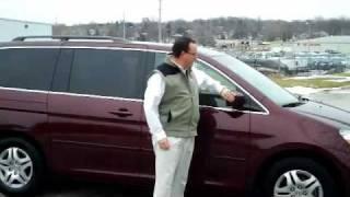 Certified Used 2007 Honda Odyssey EX-L for sale at Honda Cars of Bellevue...an Omaha Honda Dealer!