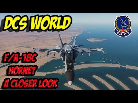 DCS World - F/A18C Hornet - A closer look