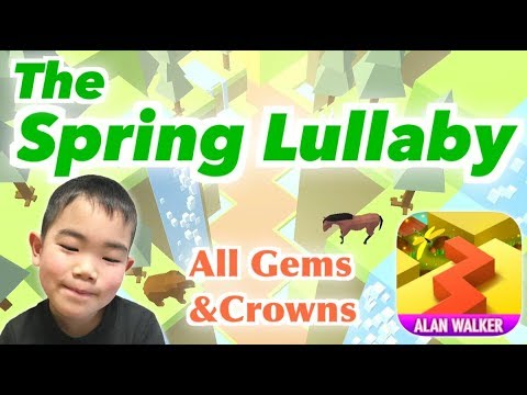 "Dancing Line ""The Spring Lullaby""(All Gems&Crowns) ダンシングライン「春が蘇る」"