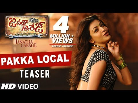 Janatha Garage Songs | Pakka Local Video Teaser |...