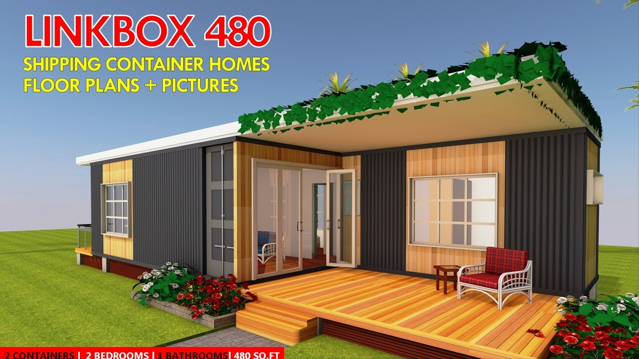 shipping container homes plans and modular prefab design ideas linkbox 480