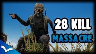 I FINALLY BEAT MY RECORD! 28 KILLS Solo Squad Kaymind PUBG Highlight