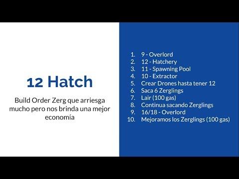 Tutorial Zerg: Build Order: 12 Hatch - ZvP - Starcraft remastered