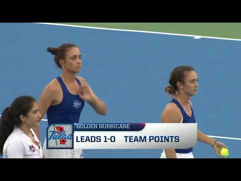 2018 American Athletic Conference Women's Tennis Championship Highlights - Tulsa 4, SMU 0