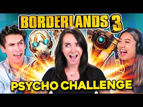 Borderlands 3 Psycho Challenge | React Gaming