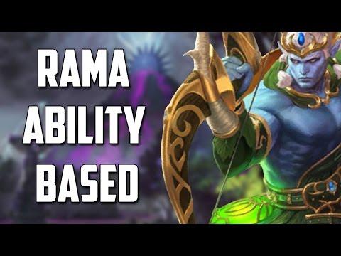 Smite: Rama ability based = ONE SHOT?!
