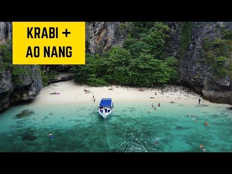 Thailand Part 3: Krabi & Ao Nang Beach + The 4 Island Tour
