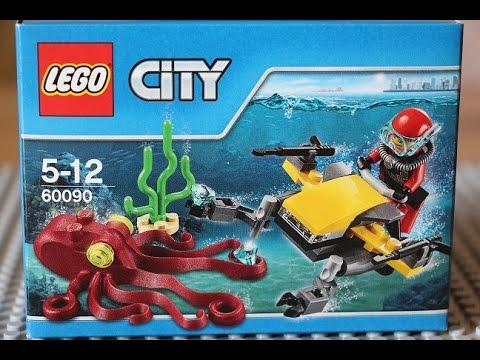 Лего сити подводный мир инструкция