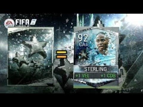 Abrimos Sobres de Estrella Antigua, Sterling de 92 / FIFA Mobile