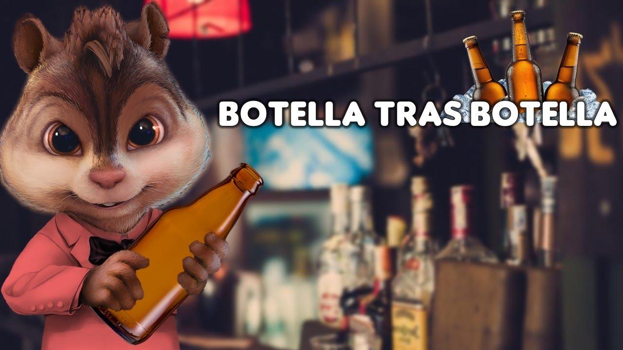 Botella Tras Botella - Gera MX, Christian Nodal   Alvin y las Ardillas