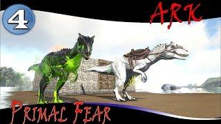 ARK  Mods Primal Fear -EP4-  Noxious allosaurus !!