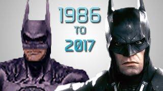 Evolution of BATMAN Games (1986 - 2017)