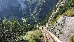 Guttannen Berglandschaft in Kanton Bern Schweiz