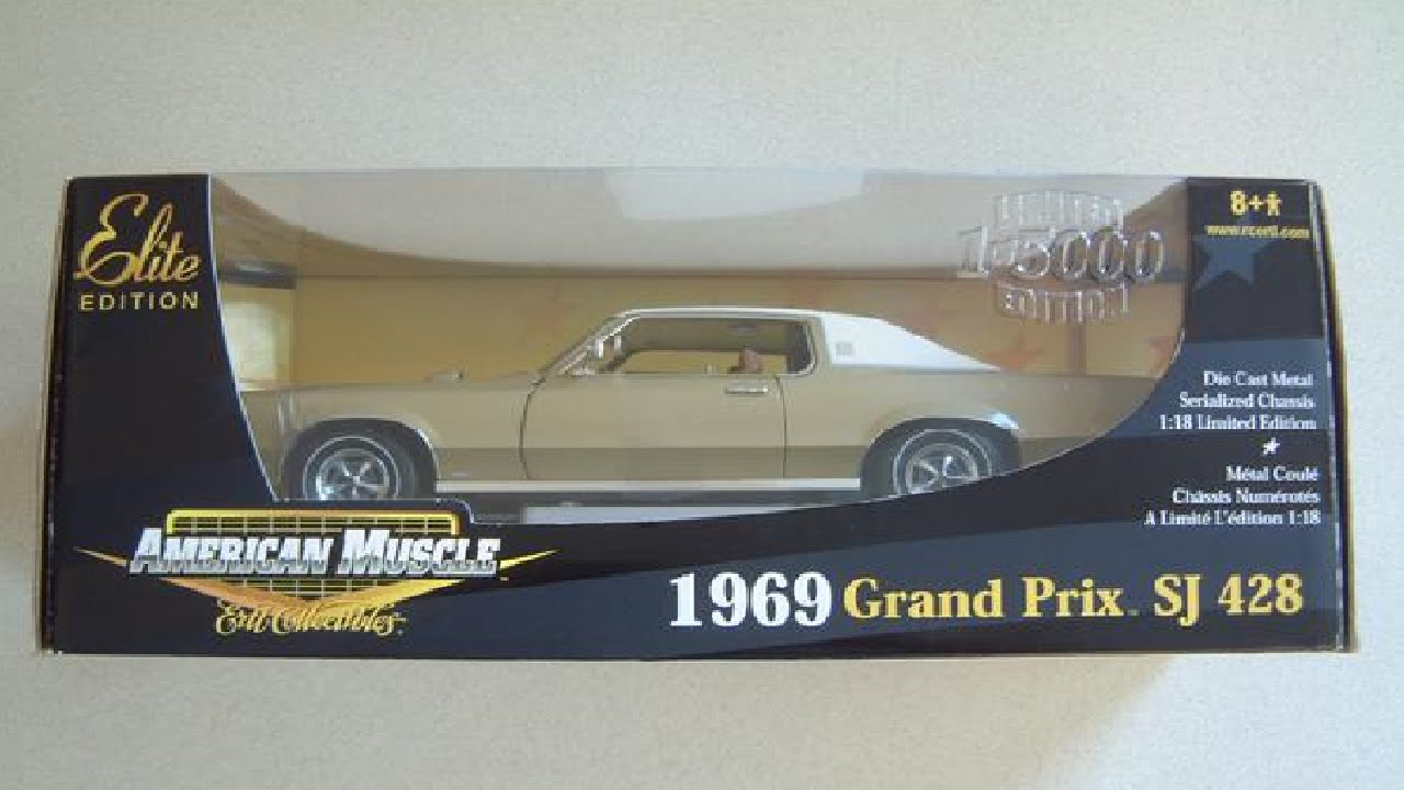 Ertl American Muscle 1 18 1969 Grand Prix Sj 428 Review