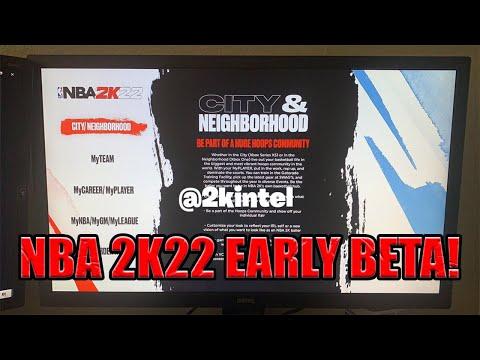 NBA 2K22 EARLY BETA !