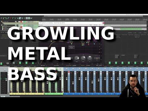 Mixing Guide - Growling Metal Bass