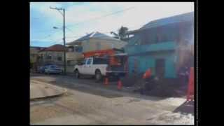 A violent night in Belize City;  seven shot and two dead