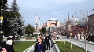 Sultan Ahmet ve Ayasofya ögle cift ezanı