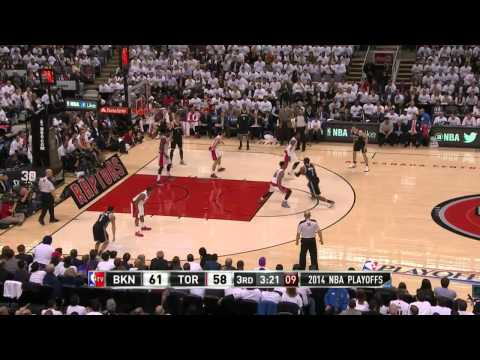 Brooklyn Nets vs Toronto Raptors Game 2 | April 22, 2014 | NBA Playoffs 2014