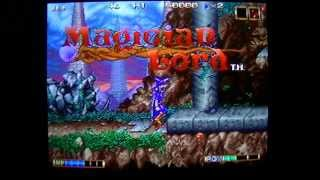 Lets play Magician Lord Neo Geo AES-1 Credit Game
