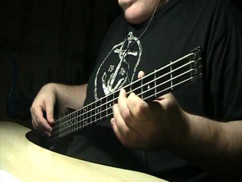 Mana Rayando El Sol MTV Unplugged Bass Cover