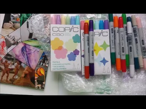 My First Copics + Where to buy in NZ