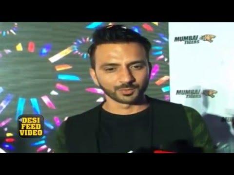 Ali Merchant Interview at Mumbai Tigers anthem launch - BCL TEAM