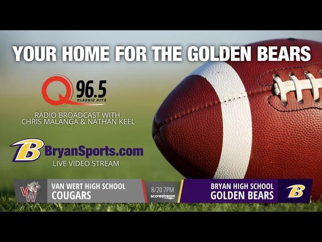 2021 Golden Bear Football - Bryan vs. Van Wert