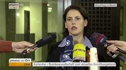 Anschlag in Berlin: Pressekonferenz mit Frauke Köhler vom 22.12.2016
