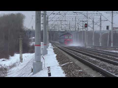 Павелецкий ход. Перегон Бирюлёво - Домодедово.