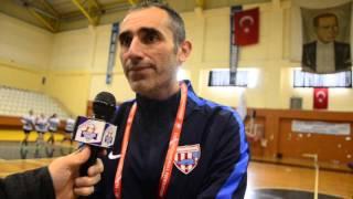 Bandırmaspor Hentbol Takımı Antrenörü Kemal Taşkın, galibiyet sonrası konuştu.
