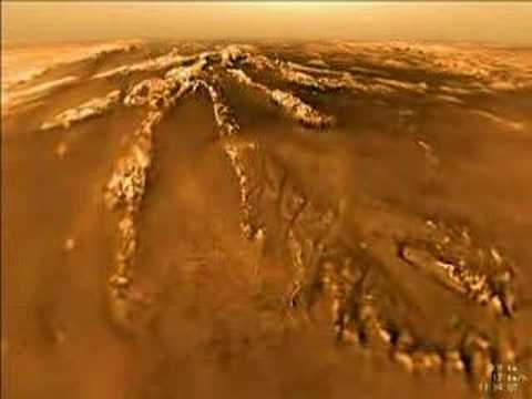 NASA - Huygens Probe Lands on  Saturn
