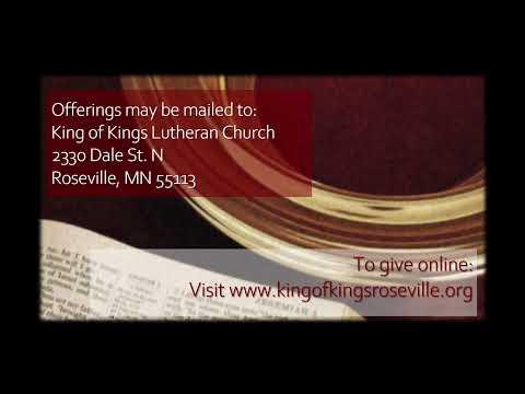 King of Kings Lutheran Church 11:00am Worship - December 13, 2020