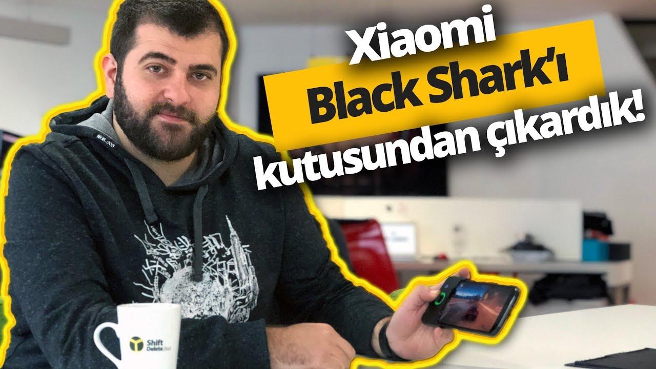 Sıvı soğutmalı, 8 GB RAM'li Xiaomi Black Shark kutusundan çıkıyor!