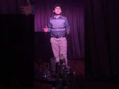 Debut Cabaret Performance in NYC 2017