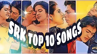 shahrukh khan most viewed songs