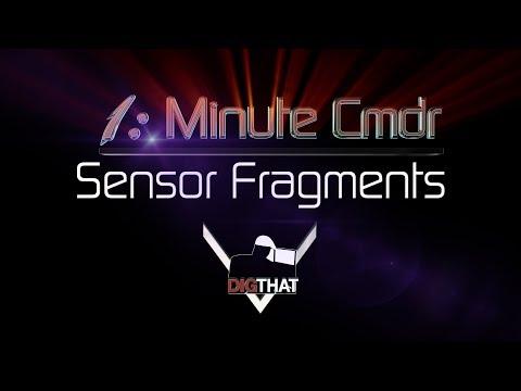 1 Minute Cmdr Sensor Fragments - Elite Dangerous