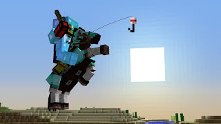Minecraft UHC but everyone gets a horse...