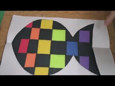 Art Project Demo - Rainbow Fish Weaving