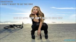 Watch Anastacia I Dont Want To Be The One video