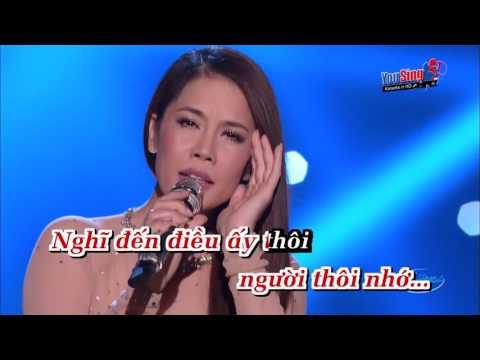 Trang Duoi Chan Minh_Karaoke (Tone Nam)